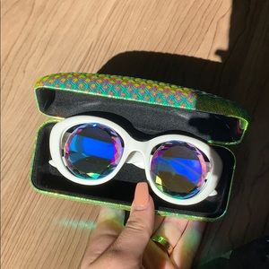 Brand new HOLES Kaleidoscope festival sunglasses
